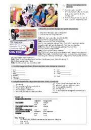 English Worksheet: Degrees of Comparison Worksheet