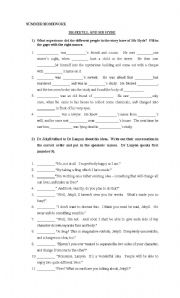 English Worksheets: Dr Jekyll and Mr Hide