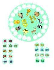 English Worksheets: THE ANIMAL GAME