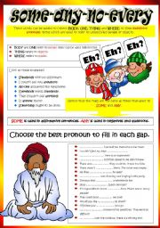 100+ [ Worksheets On Indefinite Pronouns For Grade 6 ...