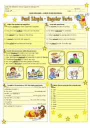 Past Simple- regular verbs