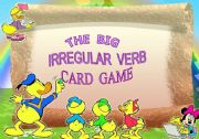 English Worksheet: The Big Irregular Verb Card Game - Set 1