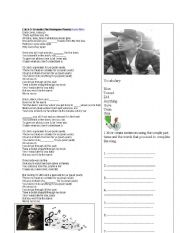 English Worksheets: Bruno Mars Song