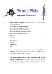 English worksheet: Lesson-plan about the storybook
