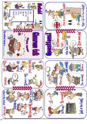 English Worksheet: Minibook Classroom English