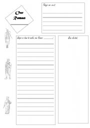 English Worksheets: Our Roman ......