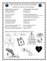 English Worksheets: Song Activity: Firework - Katy Perry