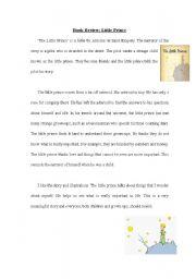 English Worksheets: LittlePrince
