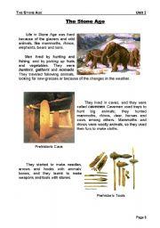 Stone age books for schools