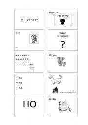 English Worksheet: rebus 3