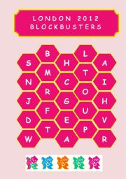 English Worksheet: LONDON 2012 - BLOCKBUSTERS