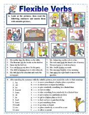 Flexible verbs.