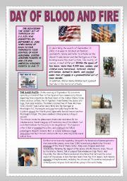 English Worksheets: SEPTEMBER 11TH