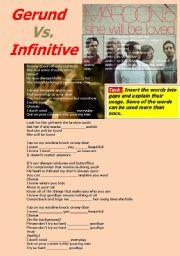 Gerund Vs. Infinitive