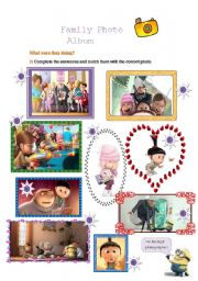 English Worksheet: Despicable Me Movie Guide-Part 3