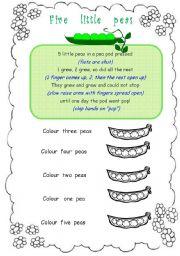 Five little peas