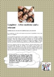 English Worksheets: world laughing day