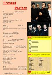 Present Perfect Exercises Lyrics + KEY