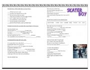 Skater Boy Song