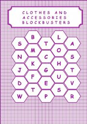 English Worksheet: CLOTHES AND ACCESSORIES - BLOCKBUSTERS