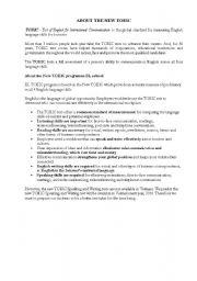 English Worksheet: New TOEIC