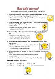 quiz aimed at teenagers and young adults using phrases dealing with ...