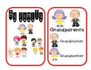 English Worksheet: Family Flashcards