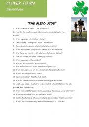 The Blind Side Esl Worksheet By Mikacantudo