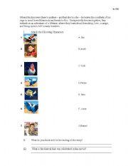 Rio the Movie Worksheet