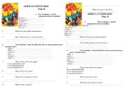 English Worksheets: Africa United 2010 film part 2