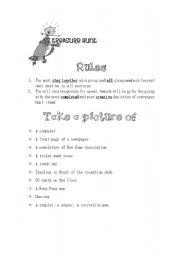 graphic about Printable Internet Scavenger Hunt titled English worksheets: Electronic Digital camera Scavenger Hunt