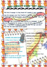 English Worksheets: WHO DOESN�T KNOW