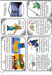 English Worksheets: Phonics Book 9: ai focus. A Fish Got by the Tail