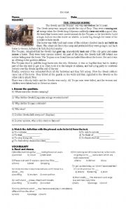 English Worksheet: exam for 5th year new headway intermediate
