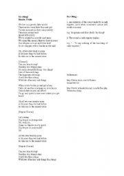 English Worksheets: Ka-Ching - Shania Twain