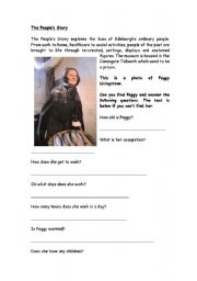 English worksheet: The People´s Story Edinburgh