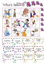English Worksheets: Toons in action