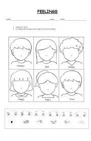 feelings activity worksheets MEMEs