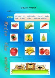 English Worksheets: English Practice