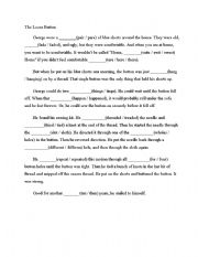 English Worksheets: Choose the correct word worksheet,
