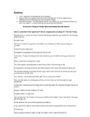 English Worksheets: What Makes the Irish Special