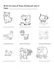 domestic animal esl worksheet by bivhu. Black Bedroom Furniture Sets. Home Design Ideas