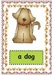 English Worksheet: ANIMAL FLASHCARDS_PART 1_five flashcards out of 25 :)
