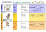 English Worksheets: Linking devices (part 2) - adding, purpose, condition