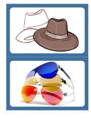 English Worksheet: Clothes 01