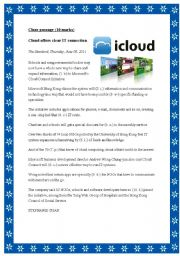 English Worksheets: Cloud offers clear IT connection