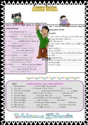 English Worksheet: Grammar Revision