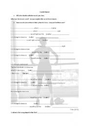 English Worksheet: cosmic dancer  Billy Elliot