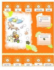 English Worksheets: Summertime!