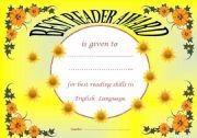 Best Reader Award